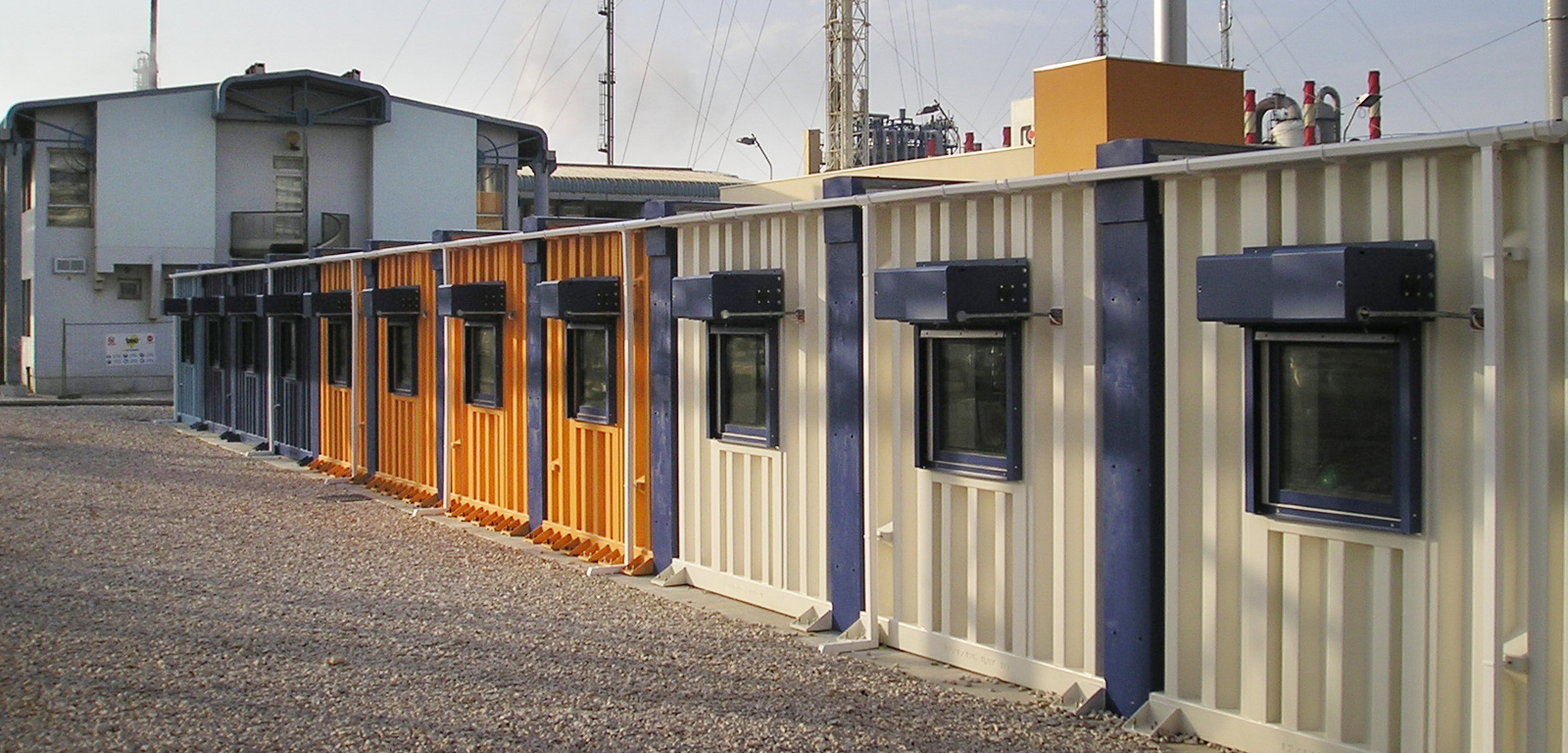 Blast resistant modular buildings UK