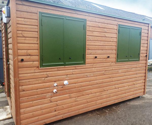 Timber modular building manufacture